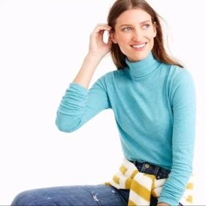 J. Crew Tissue Turtleneck Long Sleeve T-Shirt XXS